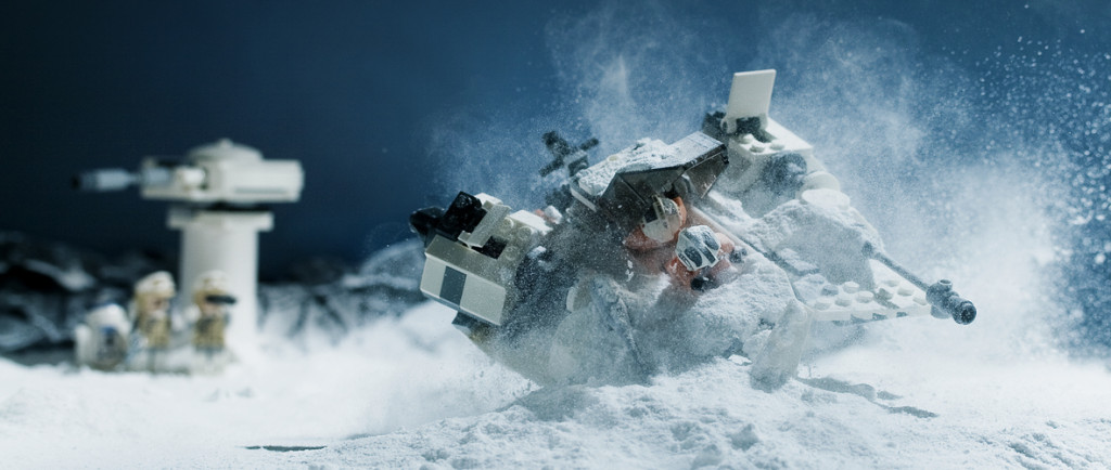 Crashing on Hoth
