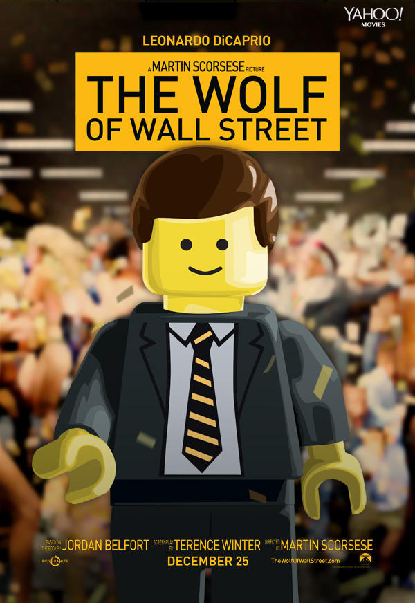 LEGO The Wolf of WAll Street