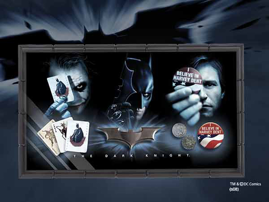 Movie Replicas: Batman Dark Knight- Prop Set