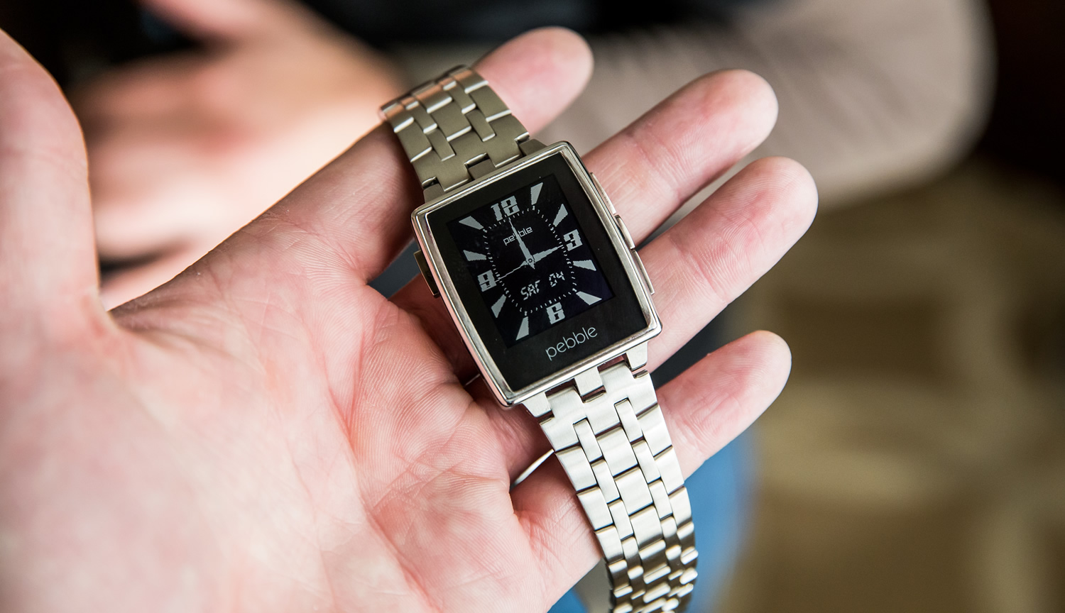Shut Up and Take My Money: Pebble Steel Smartwatch