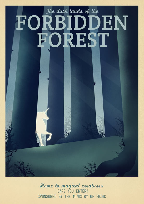 Harry Potter The Forbidden Forest