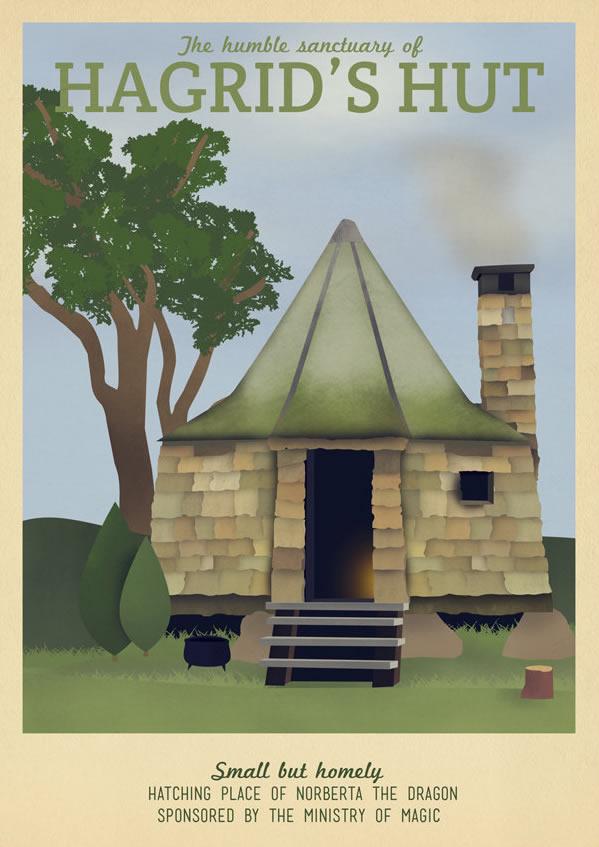 Harry Potter Hagrid's Hut