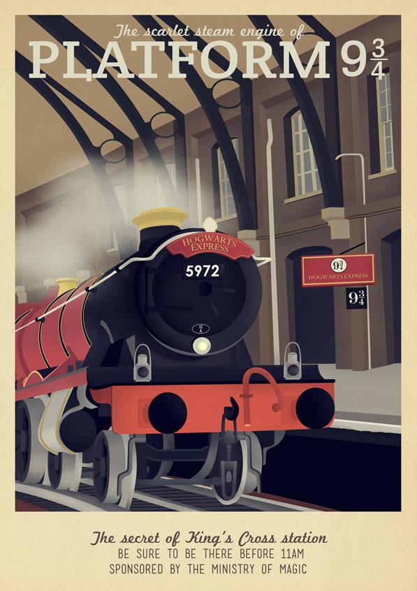 Harry Potter King's Cross Station