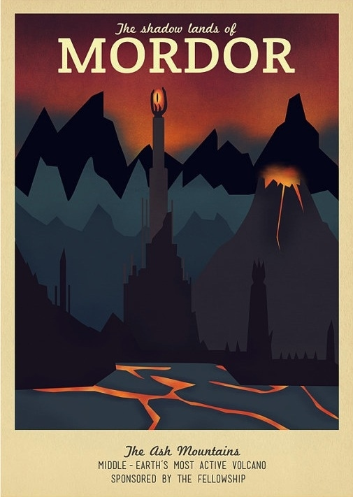 Lord of the Rings Mordor