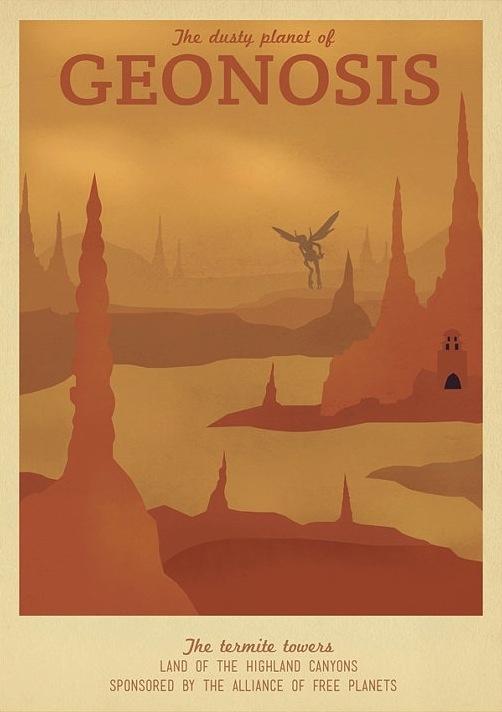 Star Wars Geonosis