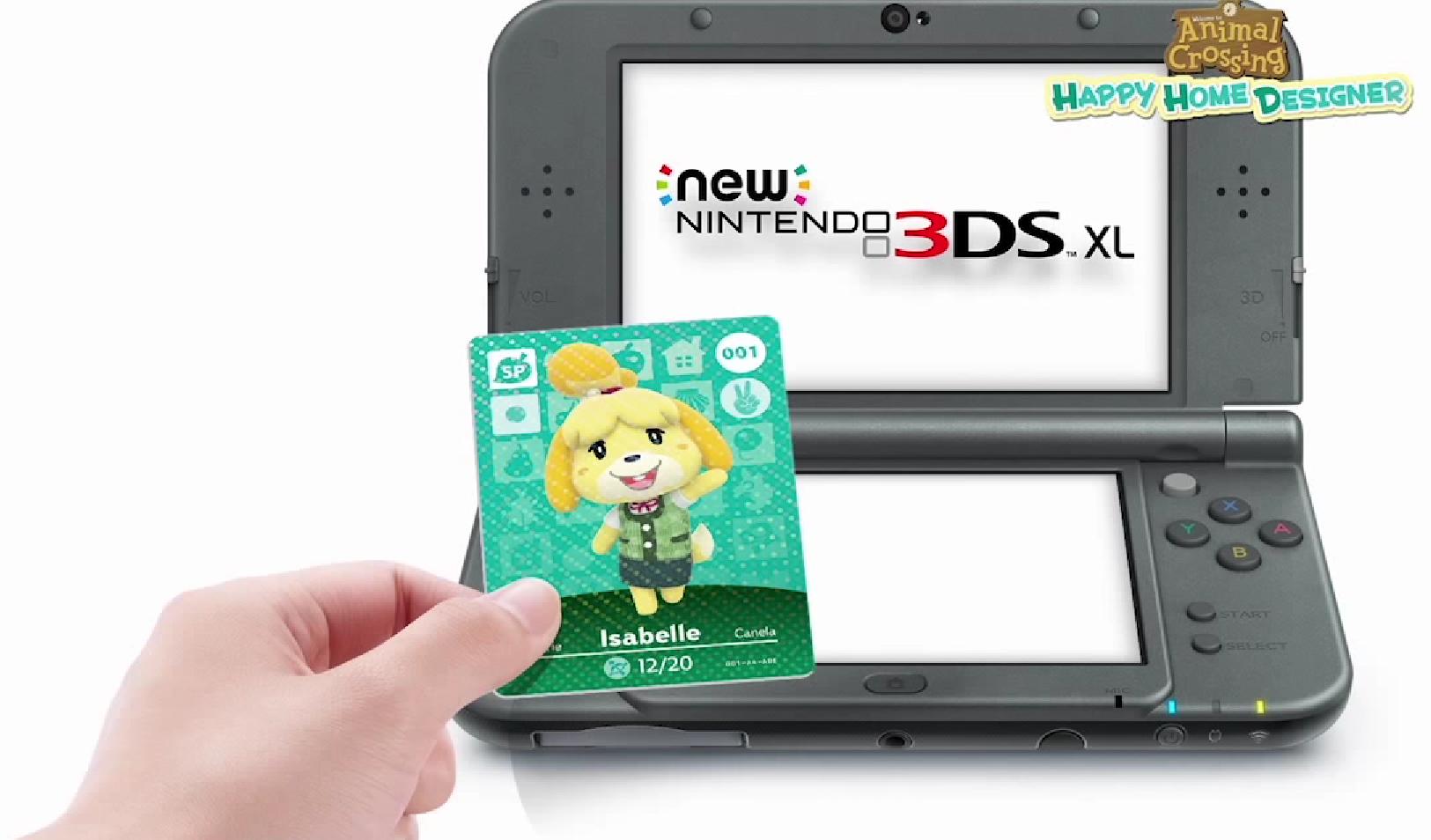 Animal Crossing Happy Home Designer Card amiibo