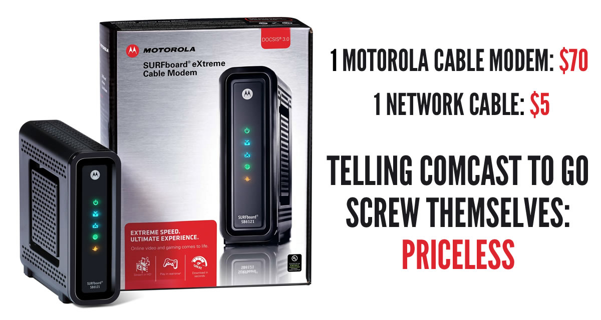 2015 Resolution 1 Ditch Your Cable Modem Rental To Save Big