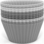 12-piece Silicone Reusable Cupcake Liners Free at Amazon