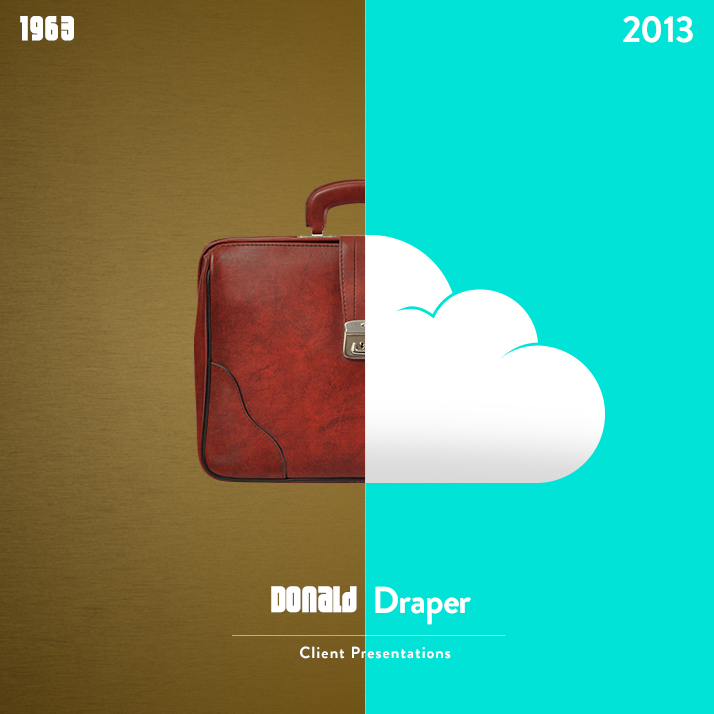 Don Draper's briefcase versus using the cloud