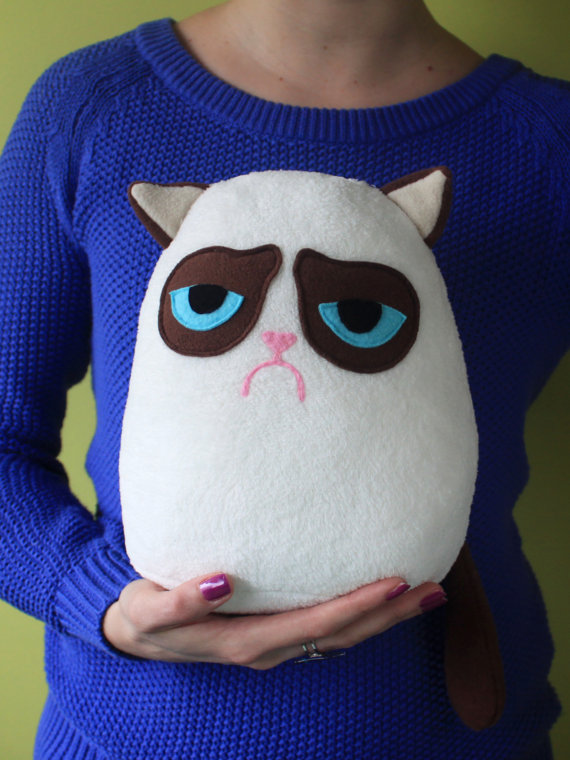 Grumpy Cat The Plushie The Checkout Presented By Ben