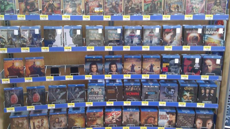 Blu-ray display