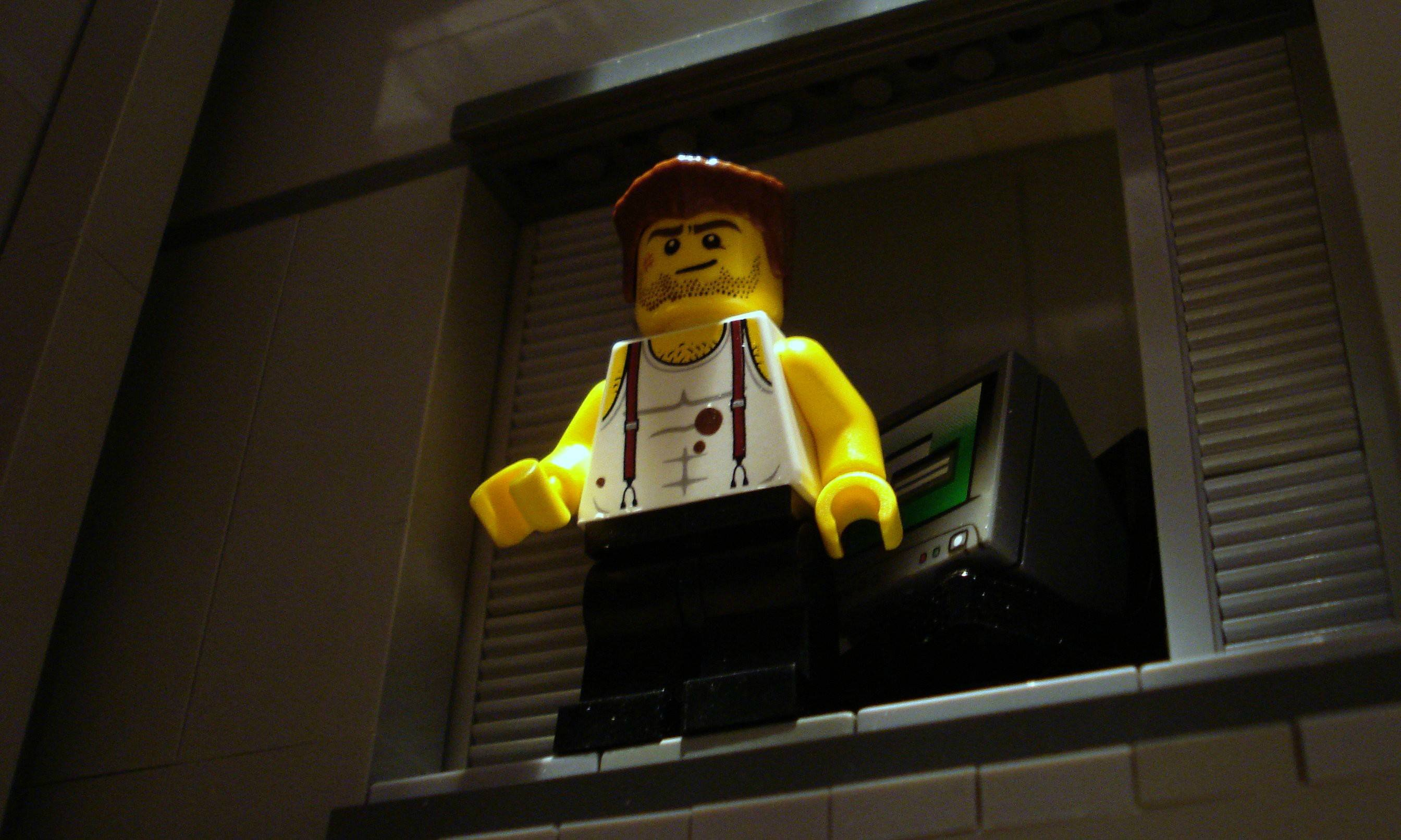 Famous Movie Scenes Captured By LEGOs - 15 awesome movie scenes recreated with lego