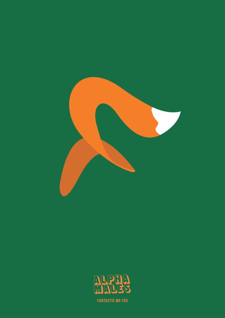 Fantastic Mr Fox, popular animated character