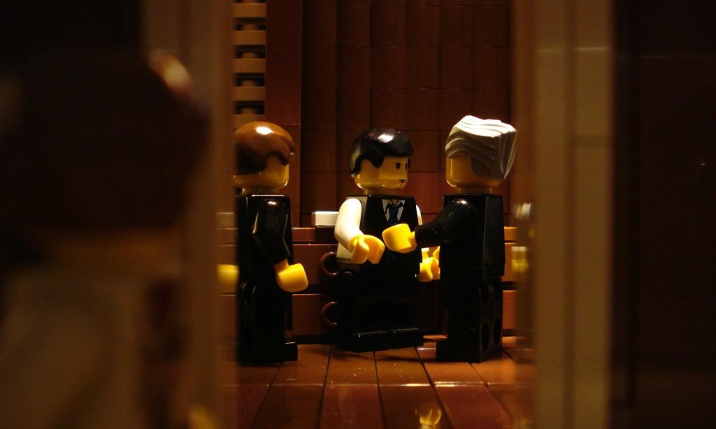 The Godfather spying scene