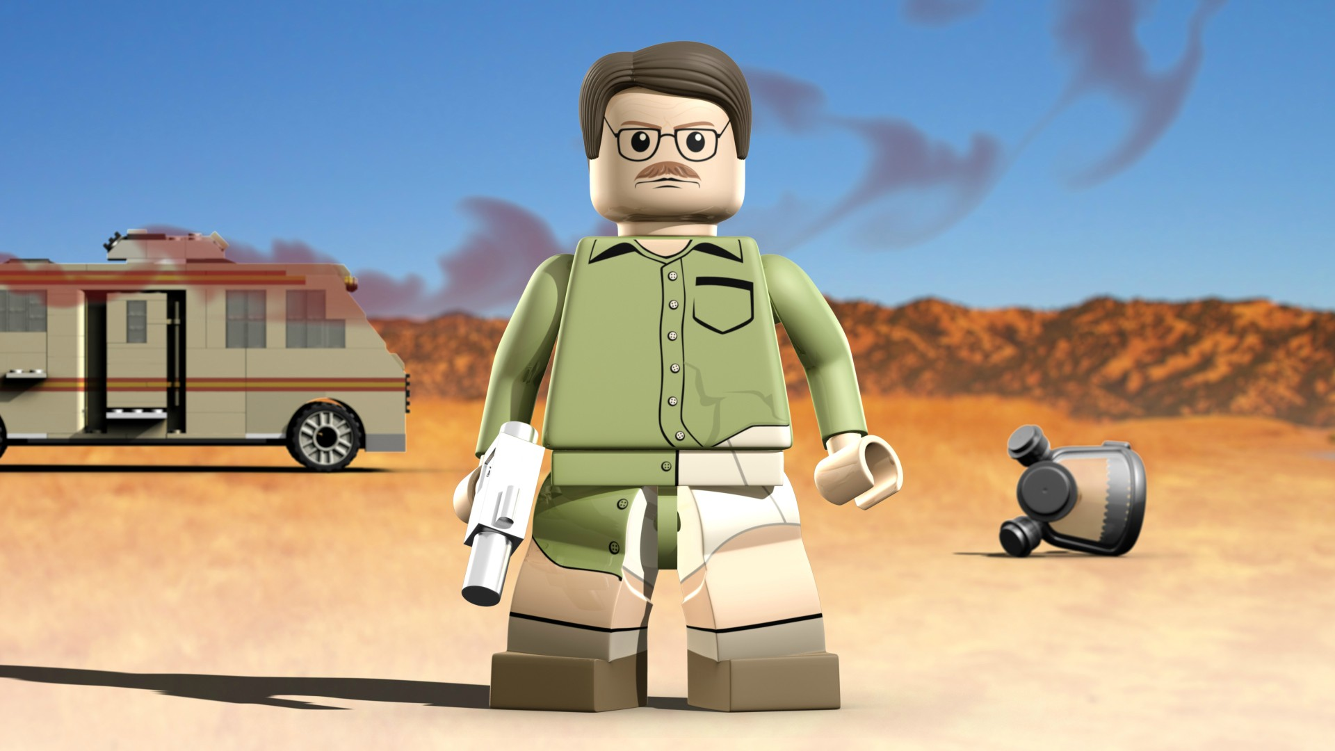 New Cooking Gadgets Animator Creates Incredible Lego Breaking Bad Video Game