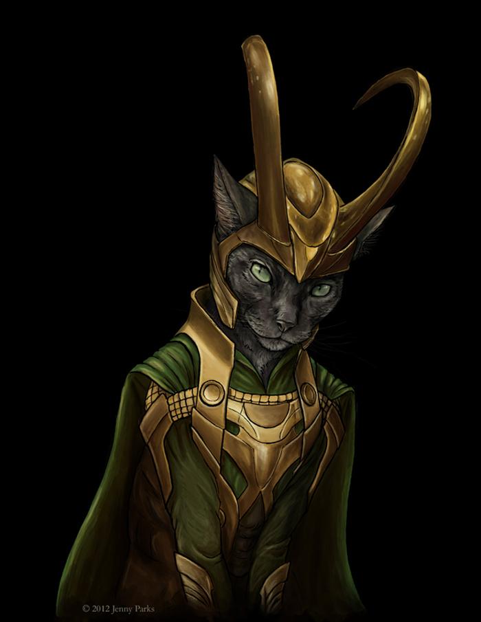 Loki of The Avengers
