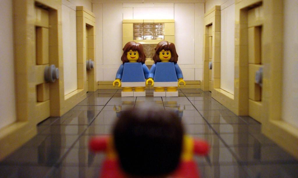 The Shining hallway scene