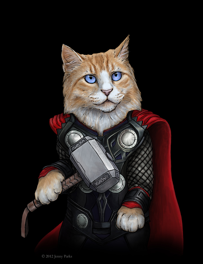 Thor of The Avengers