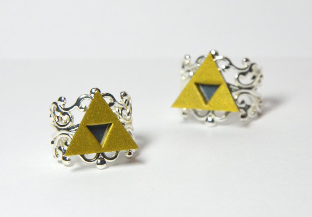 Legend of Zelda Triforce Rings