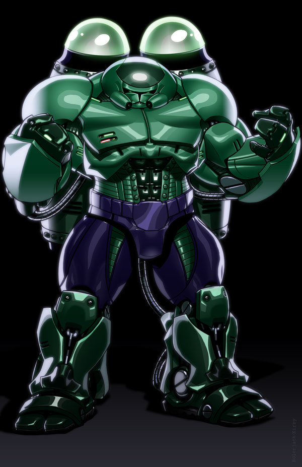 The Hulk as a giant stormtrooper