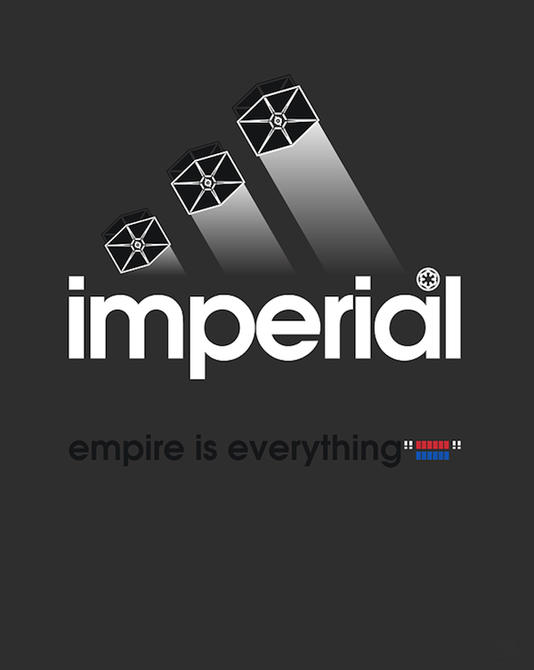 Imperial Adidas mashup: Empire is everything