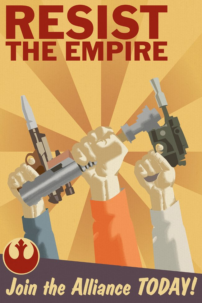 Resist The Empire, Join the Alliance Today