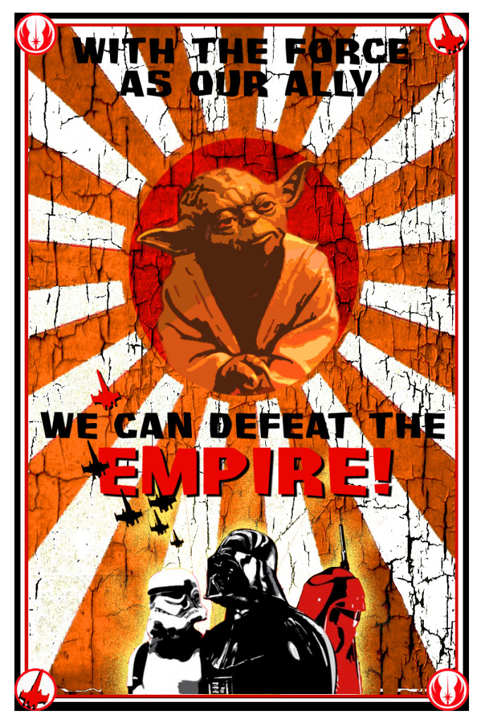 With the Force as our ally, we can defeat the Empire!