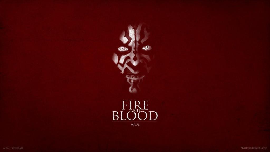 Fire and Blood: Darth Maul