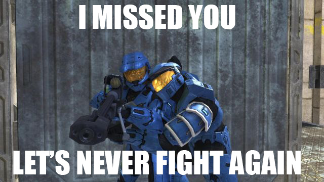 I missed you Master Chief