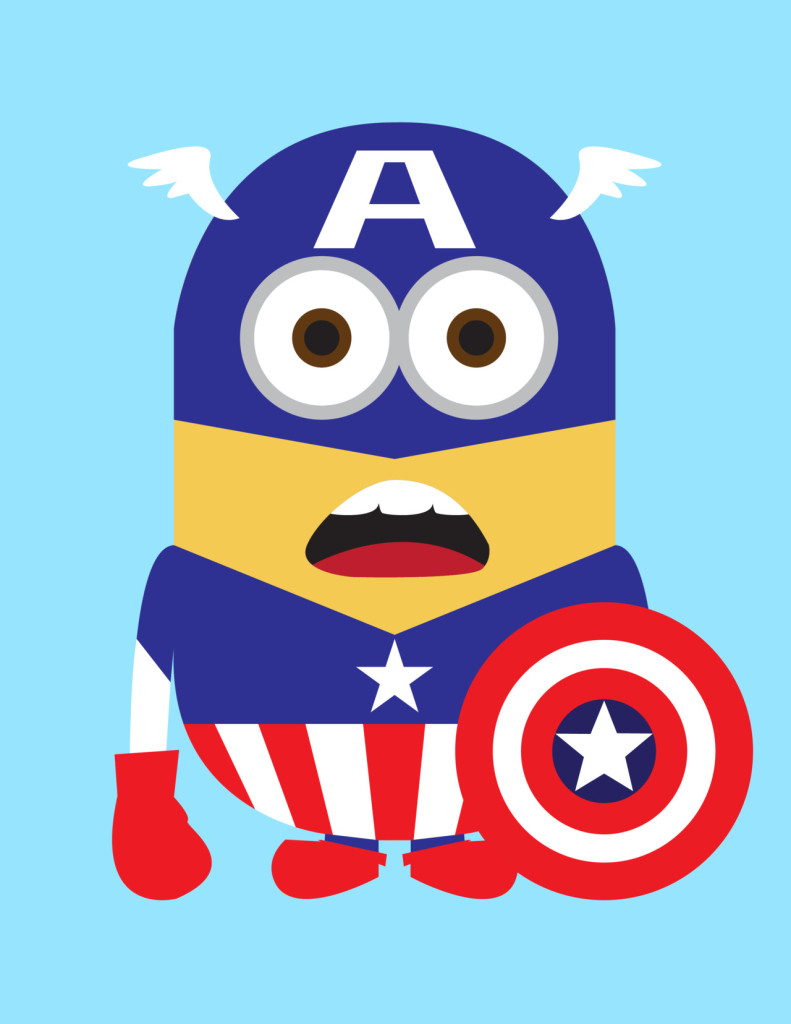 Despicable Me 2 Captain America Minion