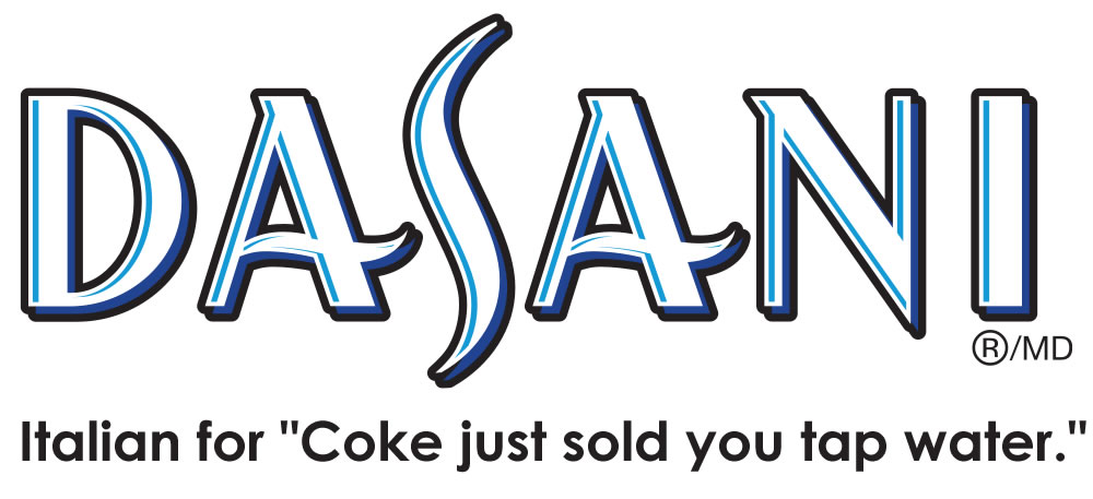 "Dasani: Italian for ""Coke just sold you tap water"""