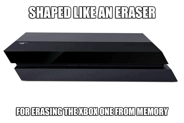 Erasing the Xbox One from existence