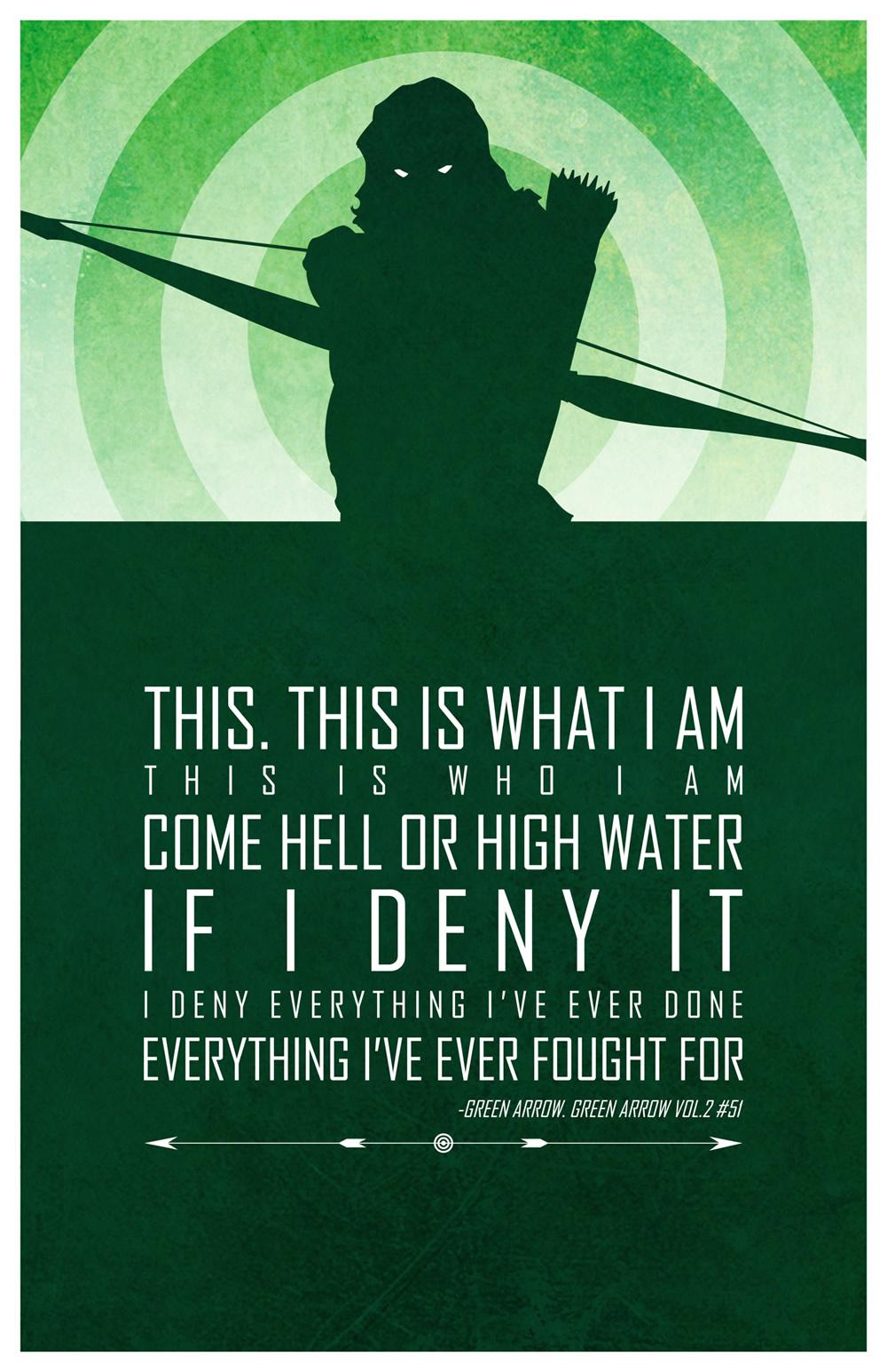 Arrow Quotes Life Custom Heroic Words Of Wisdom Inspirational Dc Superhero Quotes