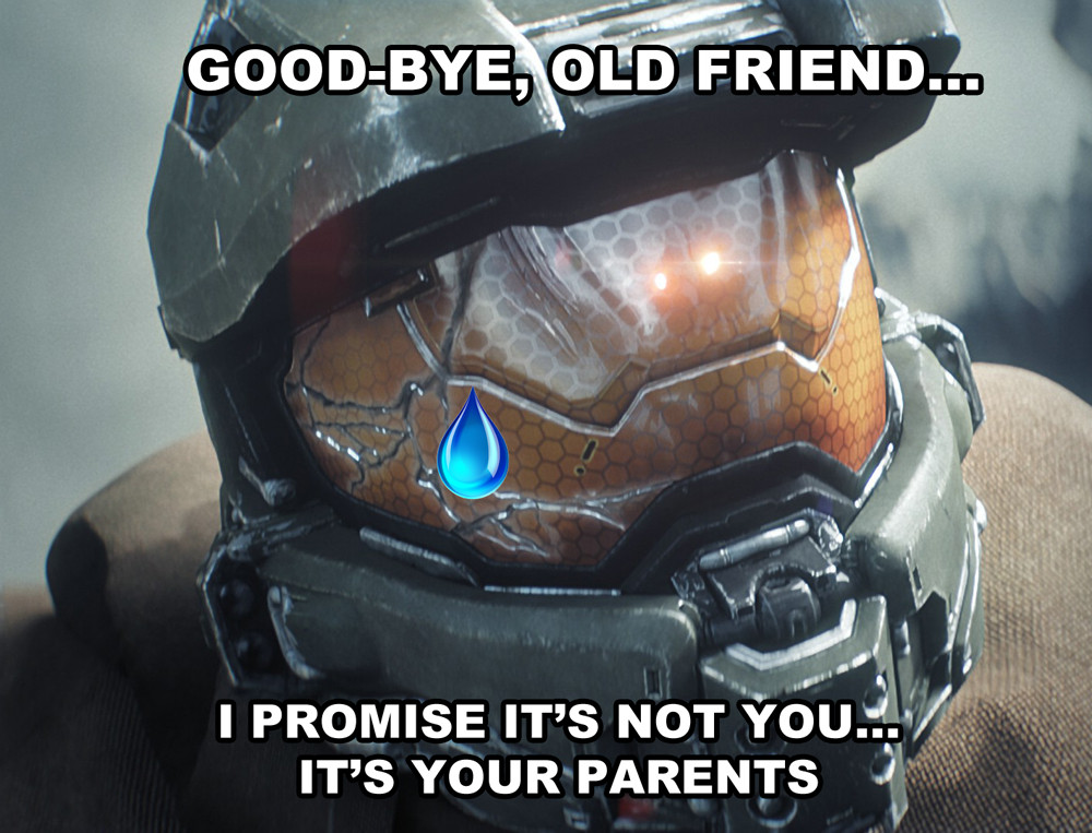 Halo goodbye