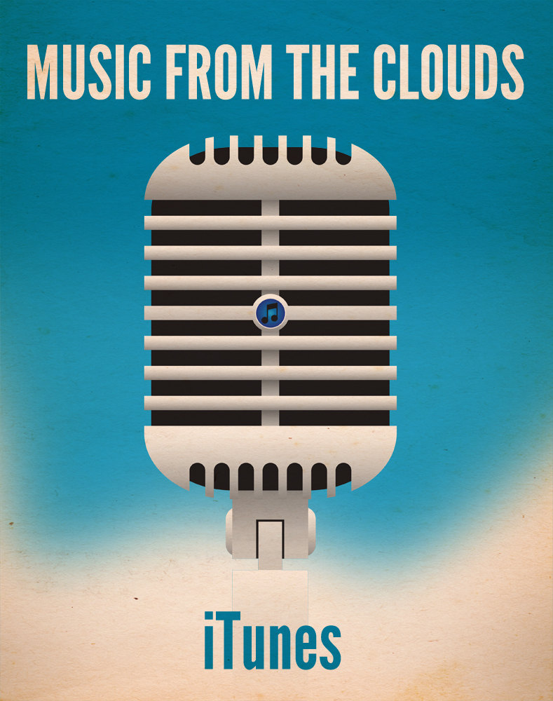 Music form the clouds: iTunes