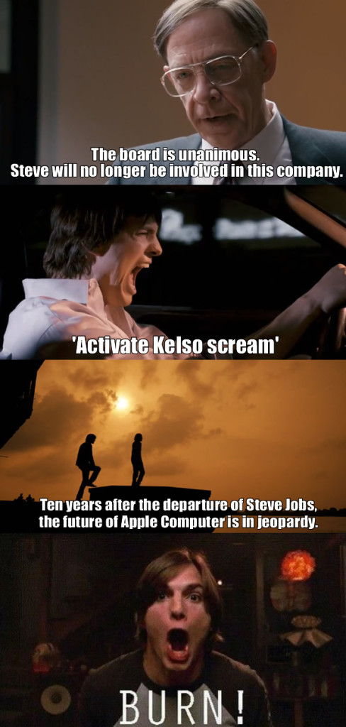 Kelso's revenge: You are fired from Apple