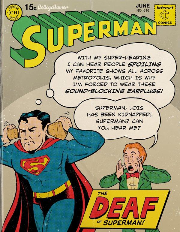 Modern Superman Spoiler Alert