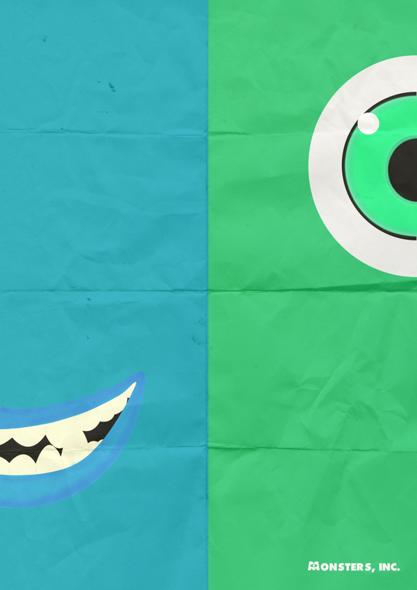 Split version of Mike and Sully
