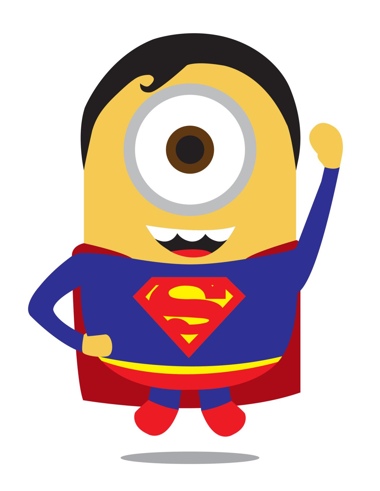 Despicable Me 2 Minions As Adorable Superheroes