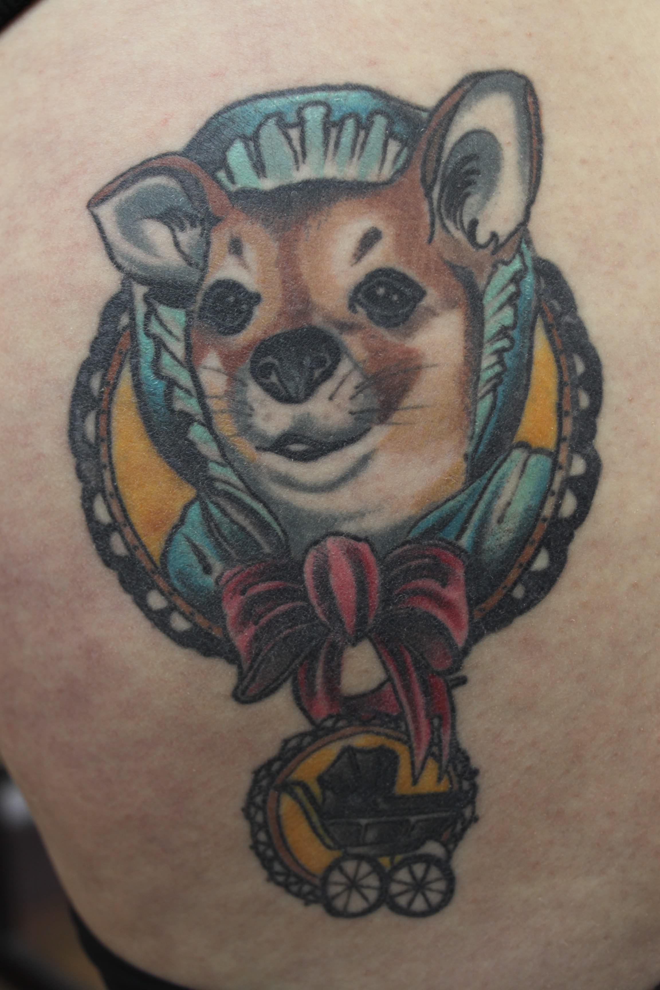 Pet Tattoos. Fur Baby