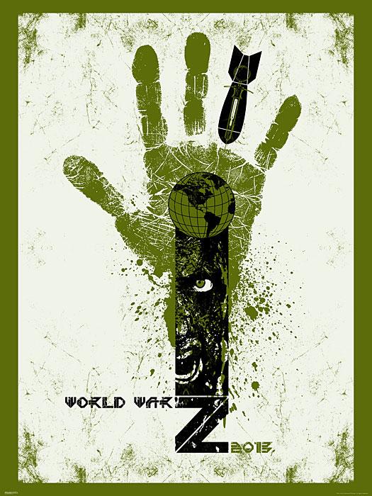 WWZ:LE print Globe