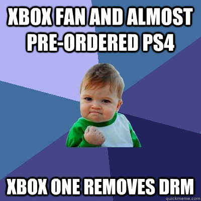 Xbox One success kid