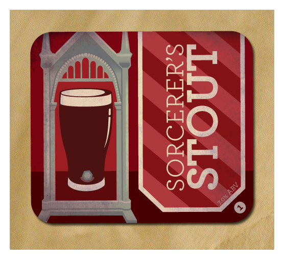 Harry Potter and the Sorcerer's Stout Beer