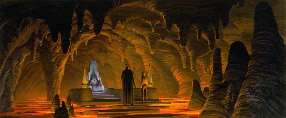 The Emperor's Lava Throne Room