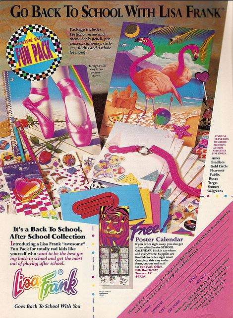 "A Lisa Frank Awesome Fun Pack! Beware, only for ""cool kids."""