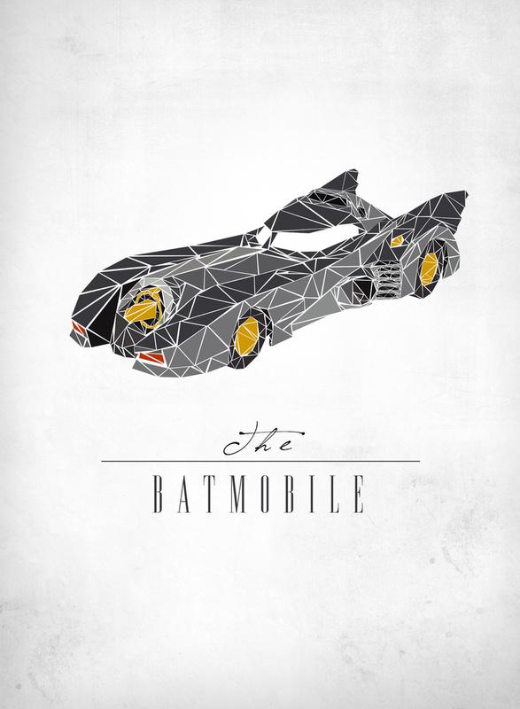 The Dark Knight's Batmobile Movie Vehicle