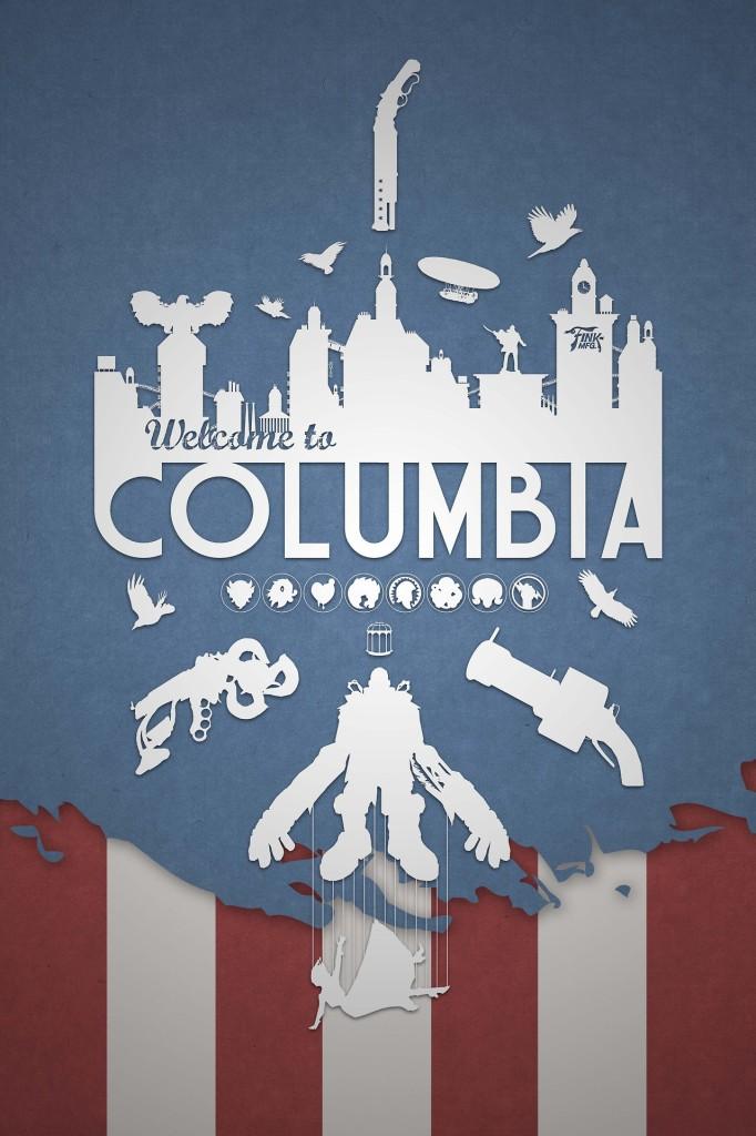 Columbia from Bioshock Infinite video game travel