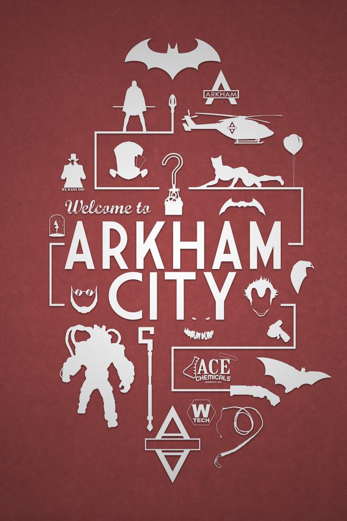 Arkham City from Batman