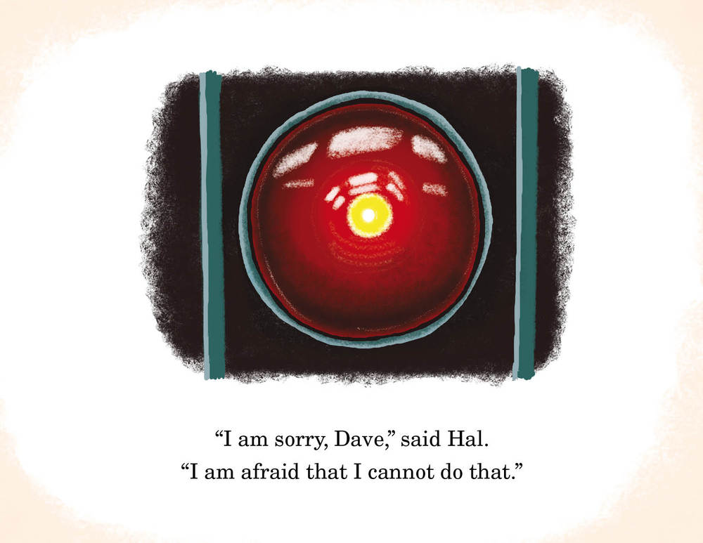 2001: A space Odyseey Hal scene I'm sorry Dave
