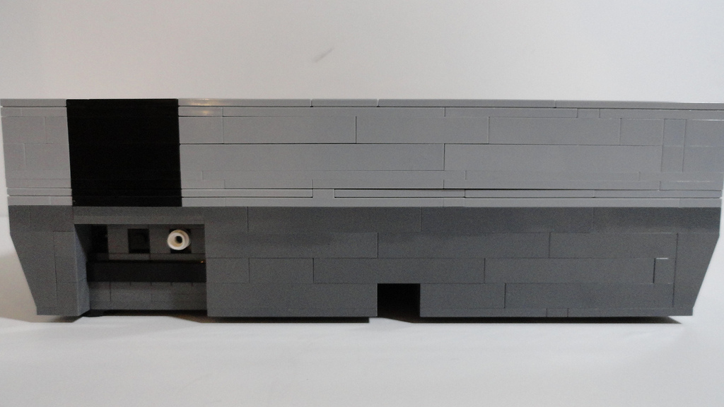 Rear View of the NES